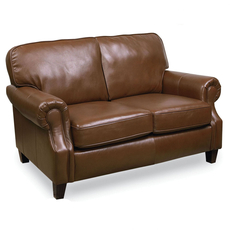 Lane Emerson Leather Stationary Loveseat