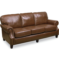 Lane Emerson Leather Stationary Sofa