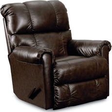 Lane Fastlane Eureka Leather Power Recliner in Savage Cocoa