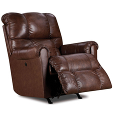 Lane Fastlane Eureka Power Recliner in Saddle