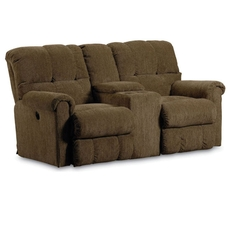 Lane Fastlane Griffin Double Reclining Console Loveseat