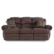 Lane Fastlane Hancock Double Reclining Sofa in Viper Mink