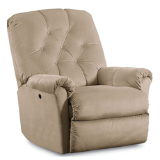 Lane Fastlane Miles Power Recliner in Inner Peace Doe