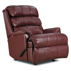 Lane Fastlane Revive Leather Power Recliner in Cosie Merlot