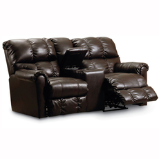 Lane Griffin Double Reclining Loveseat with Console - You Choose the Fabric