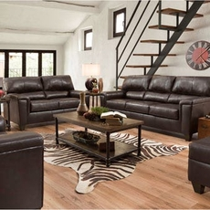 Lane Home Essentials Soft Touch Bark 3 Piece Living Room Set with Recliner