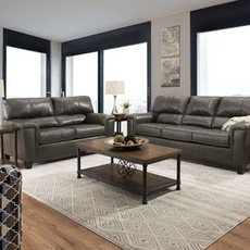 Lane Home Essentials Soft Touch Fog 3 Piece Living Room Set with Recliner