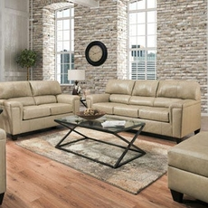 Lane Home Essentials Soft Touch Putty 3 Piece Living Room Set