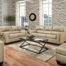 Lane Home Essentials Soft Touch Putty 3 Piece Living Room Set with Recliner