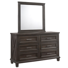 Lane Home Furnishings Cimarron Dresser with Mirror
