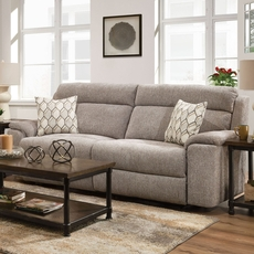Lane Home Furnishings Extrovert Silver Motion Sofa