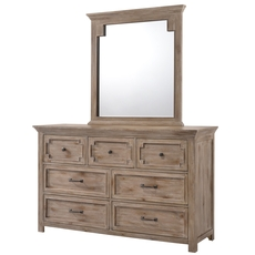 Lane Home Furnishings Sante Fe Dresser with Mirror