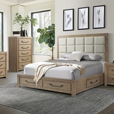 Lane Home Furnishings Urban Swag 4 Piece King Bedroom Set