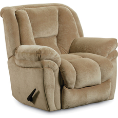 Lane Saturn Glider Recliner in Champion Camel