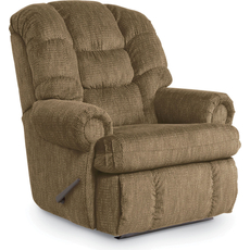 Lane Fastlane Stallion Comfort King Hide-A-Chaise Wallsaver Recliner in Campaign Praline