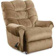 Lane Zip Rocker Recliner in Champion Camel