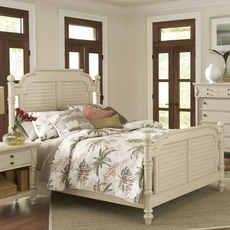 Largo Woodhaven King Bed in Antique White