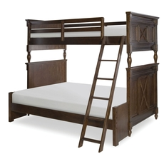 Legacy Classic Kids Big Sur by Wendy Bellissimo Bixby Twin Over Full Bunk Bed with Underbed Storage Drawers