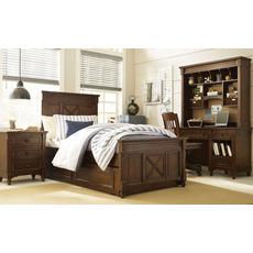 Legacy Classic Kids Big Sur by Wendy Bellissimo Highlands Twin Panel Bed with Trundle Storage Drawers