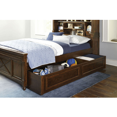 Legacy Classic Kids Big Sur by Wendy Bellissimo Vista Point Twin Bookcase Bed with Trundle Storage Drawers