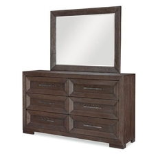Legacy Classic Facets Dresser and Mirror