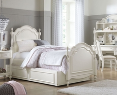 Legacy Classic Kids Harmony Summerset Twin Low Post Bed with Trundle Storage Drawers