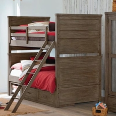 Legacy Classic Kids Bunkhouse Twin Over Twin Storage Bunk Bed