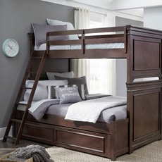 Legacy Classic Kids Canterbury Twin Over Full Trundle Bunk Bed