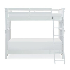 Legacy Classic Kids Canterbury Twin Over Twin Bunk Bed in Natural White
