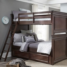 Legacy Classic Kids Canterbury Twin Over Twin Trundle Bunk Bed
