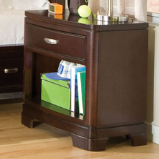 Legacy Classic Kids Park City Night Stand in Merlot