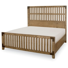 Legacy Classic Metalworks Cal King Wood Gate Bed