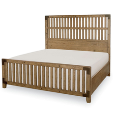 Legacy Classic Metalworks King Wood Gate Bed