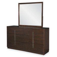 Legacy Classic Paldao Dresser and Mirror