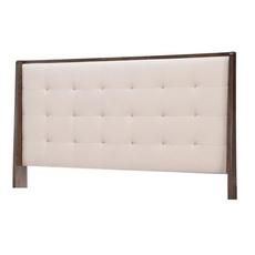 Legacy Classic Paldao Queen Upholstered Shelter Headboard