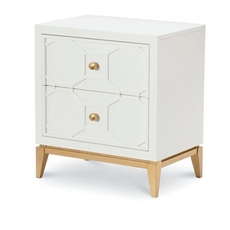 Rachael Ray Home Kids Chelsea Nightstand with Decorative Lattice
