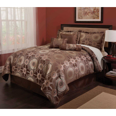 Leggett & Platt Home Textiles Paramount Collection Princeton Deluxe 7 Piece Bedding Ensmeble