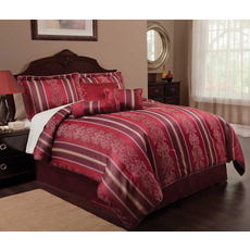 Leggett & Platt Home Textiles Paramount Collection Regal Deluxe 7 Piece Bedding Ensmeble