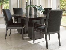 Lexington Carrera Modena 5 Piece Double Pedestal Dining Set