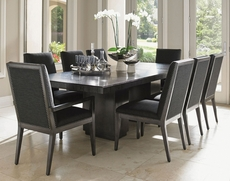 Lexington Carrera Modena 9 Piece Double Pedestal Dining Set