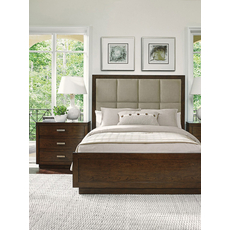 Lexington Laurel Canyon Casa del Mar Queen Size Upholstered Headboard