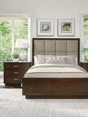Lexington Laurel Canyon Casa del Mar Queen Size Upholstered Bed