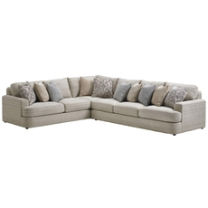 Lexington Laurel Canyon Halandale 3 Piece Sectional in Gray