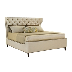 Lexington MacArthur Park Mulholland Cal King Size Upholstered Platform Bed