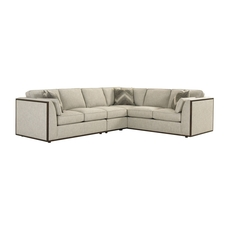 Lexington MacArthur Park Westcliff Sectional in Light Gray