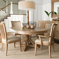 Lexington Monterey Sands 5 Piece San Marcos Dining Set With Alameda Chairs