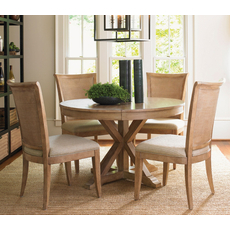 Lexington Monterey Sands 5 Piece San Marcos Dining Set With Los Altos Chairs