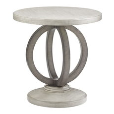 Lexington Oyster Bay Hewlett Round Side Table