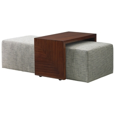Lexington Take Five Broadway Cocktail Ottoman with Slide
