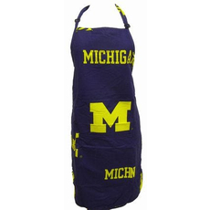 College Covers University of Michigan Apron